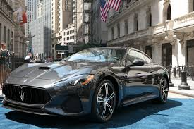 maserati interior 2017 maserati granturismo model year 2018 makes its world debut in new york