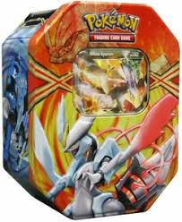 white kyurem black white 2013 legendary tin white kyurem ex