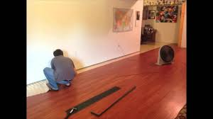 Youtube Laminate Flooring Installation 2013 Time Lapse Vinyl Floor Installation Youtube
