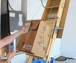 diy attic ladder u2013 boothify me