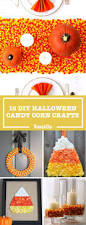 How To Make Halloween Garland 19 Candy Corn Crafts U0026 Decorations For Halloween