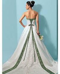 and white wedding dresses green and white dresses fashion dresses gowns