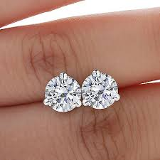 diamond stud sizes 10 things you should about diamond stud earrings ebay