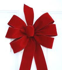 christmas ribbon bows wired brick velvet ribbon christmas ideas