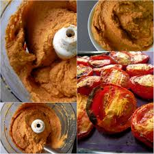roasted tomato and red pepper hummus vegan