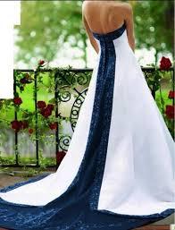Nautical Theme Dress - nautical wedding dresses nautical themed wedding dress