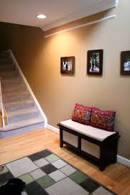 Entryway Inspiration Perfect Entryway Bench With Baskets Three Dimensions Lab