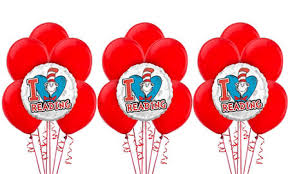 dr seuss balloons dr seuss party supplies dr seuss birthday party city
