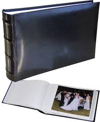 Slip In Photo Albums Classic Black Slip In Photo Albums 8x6 Photos 15x20 Cm 100