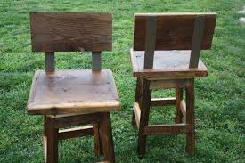 Barnwood Bar Stools With Wooden Bar Stools Backs The Sweet Crowdbuild For