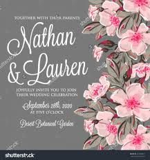 Wedding Invitation Card With Photo Wedding Invitation Card With Romantic Flower Dog Rose 2596129