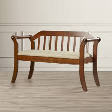 alcott hill yorkshire wood entryway bench lovely wooden entryway