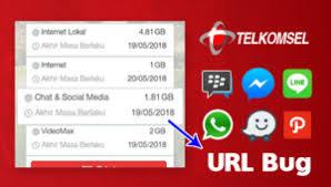 kuota bbm dan fb telkomsel bug kuota chat dan social media telkomsel anonytun terbaru 2018
