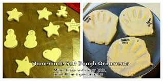 salt dough ornaments singing through the