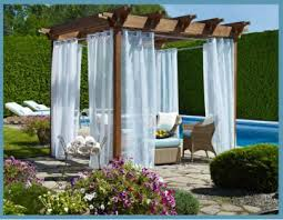 outdoor curtains a home like no other