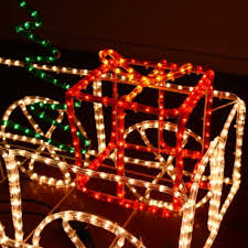 3d led motif outdoor lighted christmas train for rooftop christmas