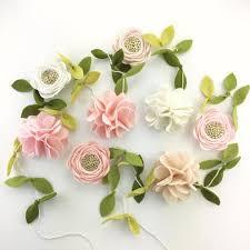 floral garland blushing dreams floral garland flora and peg