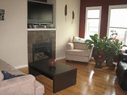 Living Room Layout With Fireplace by Warm Ambiance Living Room Design With Fireplace Decor Ideas