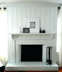 fireplace makeovers images brick remodel ideas before and after