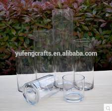 Glass Cylinder Vases Cheap Clear Glass Wedding Centerpieces Cylinder Vases Buy Tall Glass