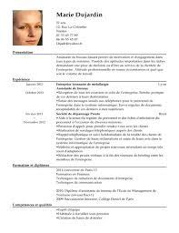 assistant de bureau cv assistante de bureau exemple cv assistante de bureau livecareer