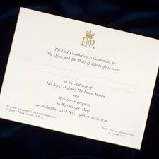 royal wedding invitation prince harry and meghan markle s wedding invitations see what
