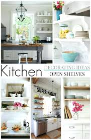 kitchen ledge decorating ideas window open shelf storage sill