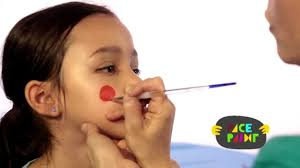 ladybug face painting tutorial youtube