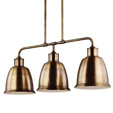 3 Light Island Pendant Hampton Bay Mattock 3 Light Oil Rubbed Bronze Island Light