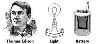 how did thomas edison invent the light bulb i have gotten a lot of results i know several thousand things that