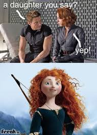 Hawkeye Meme - image 314915 the birth of merida avengers know your meme
