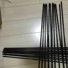 24pcs bow practice fiberglass arrow fletching arrow feather