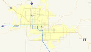 City Of Phoenix Map by Arizona State Route 143 Wikipedia