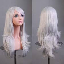 grey hairstyles grey hair wigs longhair danning style