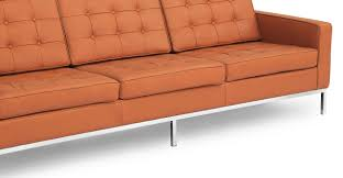 knoll florence sofa florence set sofa u0026 2 chairs luxe camel leather kardiel