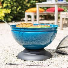 Fire Pit Globe by La Hacienda Globe Enamelled Fire Pit Review Good Housekeeping