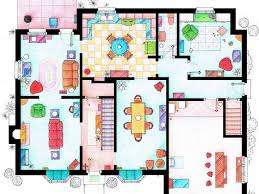 house and floor plans floor plans of homes from tv shows business insider