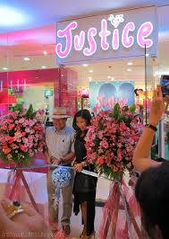 justice at the mall lucky citrine justice opens at shangri la mall