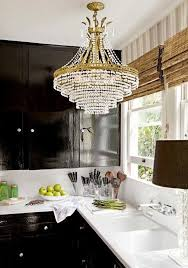 Chandelier In The Kitchen 86 Best Chic Chandeliers Images On Pinterest Chandeliers Glass