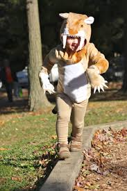 tiger halloween costumes saber toothed tiger costume made by me buzzmills pinterest