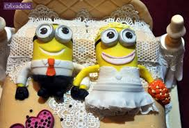 novelty wedding cakes minion wedding cake novelty cakes wedding cakes