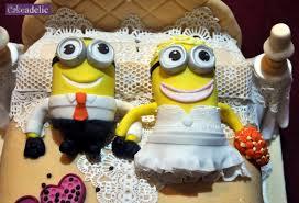 minion wedding cake topper bespoke wedding cakes wedding cupcakes wedding cupcake towers