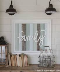 home decor family signs reclaimed wood turquoise family sign by start at home decor