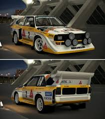 audi rally audi sport quattro s1 rally car u002786 by gt6 garage on deviantart