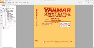 yanmar tractor ym 276 ym 276 d service manual auto repair manual