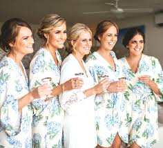 and bridesmaid robes attractive bridesmaid dressing gowns rerserved for 3