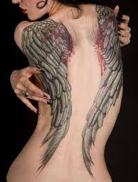 tattoo angel wings on neck 15 attractive wings tattoo designs with meanings