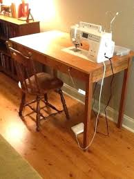 used sewing machine cabinet used sewing machine cabinet sewing machine table love this thinking