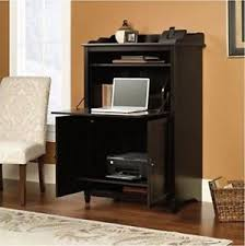 Computer Armoire Desk Cabinet Computer Armoire Black Desk Cabinet Office Hutch Storage File