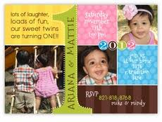 mickey u0026 minnie twin first birthday party invitations amy u0027s card
